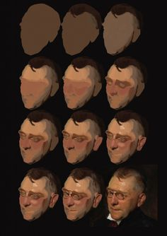 Sargent layers by Alex Heath http://drawpaintsculpt.com/blog/sargent-layers-by-lara-tutor-alex-heath/