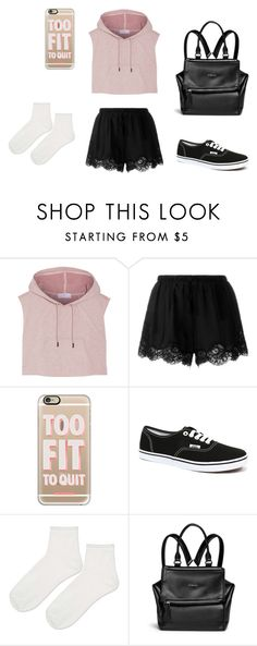"""Untitled #651"" by nikki-diamonds ❤ liked on Polyvore featuring adidas, Twin-Set, Casetify, Vans, Topshop and Givenchy"