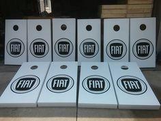 FIAT cornhole boards