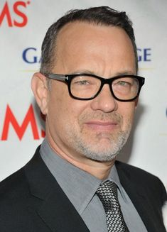 Tom Hanks wearing classic Tom Ford prescription glasses! #TomHanks #TomFord #prescription #glasses