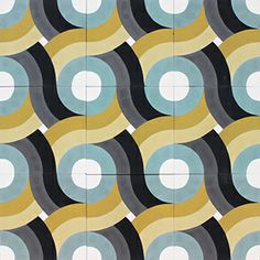 encaustic tile modernish pattern
