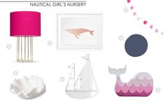 Project Nursery - Girl Nautical Nursery
