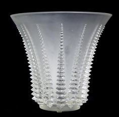 Property from a Palm Beach Collection RENE LALIQUE 'ACTINIA' A clear and frosted…