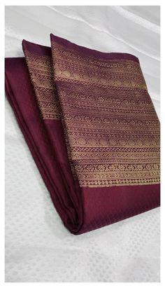 Kerala Saree Blouse Designs, Cotton Saree Designs, Half Saree Designs, Bridal Blouse Designs, Kanjivaram Sarees Silk, Indian Silk Sarees, South Silk Sarees, Kanchipuram Saree, Bridal Sarees South Indian