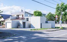 Jun Igarashi - House D, Asahikawa 2015. Via, photos © Sergio Pirrone.
