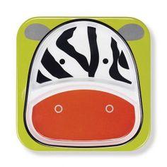 Skip Hop Zoo Plate Zebra