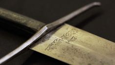 Ooh, shiny! 600-YEAR-OLD MEDIEVAL BROADSWORD FOUND AFTER 72 YEARS