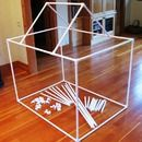 Awesome DIY fort kit that comes with instructions for additional projects that the kids can build using the PVC
