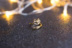 Fox Wrap Ring Adjustable Fox Ring Animal Lover Jewelry Fox Ring, Silver Rings, Stud Earrings, Animal, Trending Outfits, Unique Jewelry, Handmade Gifts, Etsy, Vintage
