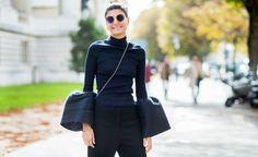 Tüt Tüüt! Fashion EditorGiovanna Battaglia macht es vor: So trägt man die neuen Trompetenärmel jetzt!