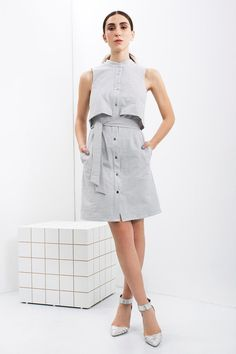 How clever: a one-piece number that looks like two. #etsyfashion