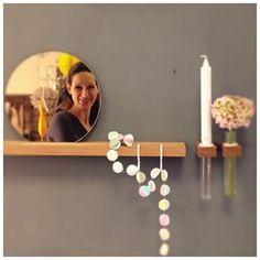 Figr1 wanddecoratie! Leuk voor in toilet!