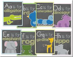 Alphabet Card Set (Perfect for any classroom!)