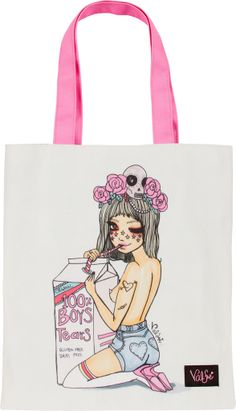 Valfre Boys Tears Tote Bag