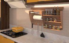 homify / Intervento Design: Nichos Organizadores para Cozinha: Cozinha translation missing: br.style.cozinha.moderno por Intervento Design