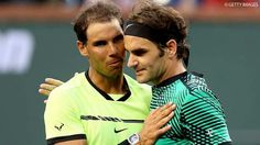 A recap of every match between Roger Federer and Rafael Nadal. The pair will renew their rivalry on Friday in the 2019 Roland Garros semi-finals. Roger Federer, Atp Tennis, Play Tennis, Rafael Nadal, Tennis Magazine, Federer Nadal, Hopman Cup, Davis Cup, Bnp