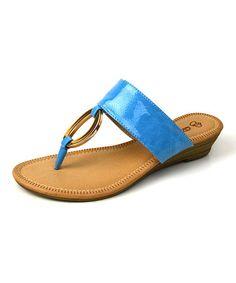 Love this Blue Collar Sandal on #zulily! #zulilyfinds
