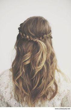 By: volleyball beauty ♛ ♡ (volleyballbeaut) hair hair, long hair styles, ha Pretty Hairstyles, Easy Hairstyles, Wedding Hairstyles, Hairstyle Ideas, Updo Hairstyle, Summer Hairstyles, Latest Hairstyles, Famous Hairstyles, Bridesmaids Hairstyles
