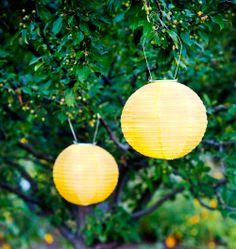 Soji Solar Lantern Yellow Www.allsopgarden.com