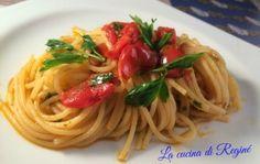 """#Spaghetti alle vongole """"fujute""""# La cucina di Reginé"""