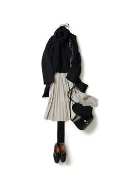 pleats please! kk-c ~lisa 12 December. Office Fashion, Work Fashion, Daily Fashion, Fall Outfits, Casual Outfits, Fashion Outfits, Womens Fashion, Fashion Trends, How To Have Style
