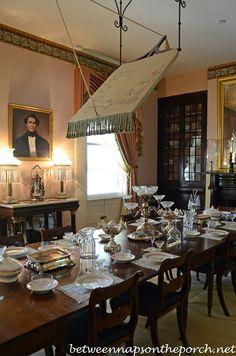 Dining Room Rosedown Plantation