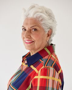 You're never too old for bold lipstick – and a make-up makeover