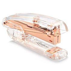 Rose Gold Acrylic Desk Stapler | 18 Cool School Supplies that Every Girl Needs