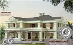 Simple Bungalow House Designs with Beautiful Double Storey Houses Simple Bungalow House Designs, Modern Bungalow House Design, Simple House Design, Double Storey House, Mid Century Modern Bathroom, House Design Pictures, Style Simple, Beautiful Home Designs, Toilet