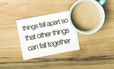 fall together. Falling Apart, Better Things, Things Happen, Fun Things, Random Things, Feel Better, Random Stuff, Pin Up Quotes, Words Quotes