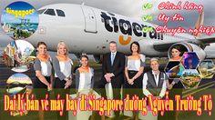 Đại lý bán vé máy bay đi Singapore đường Nguyễn Trường Tộ