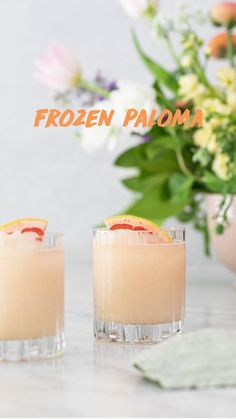 Easy Cocktails, Cocktail Drinks, Fun Drinks, Beverages, Simple Cocktail Recipes, Pink Alcoholic Drinks, Refreshing Summer Cocktails, Brunch Drinks, Cocktail Ideas