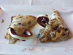 Lasagne al Treviso. Villaverde Bar&Restaurant, Fagagna, Udine - Italy