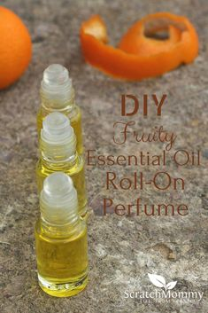 DIY Fruity Eessential Oil Roll-On Perfume Recipe