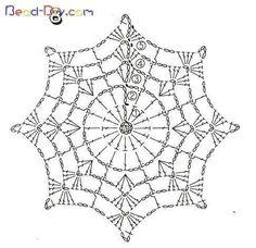 crochet mandala pattern T ii motif rnekleri ve emalar Crochet Snowflake Pattern, Crochet Stars, Crochet Snowflakes, Crochet Doily Patterns, Crochet Round, Thread Crochet, Love Crochet, Crochet Doilies, Crochet Flowers