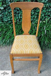 FANTASTIC site for DIY reupolstering a chair bottom. Wonderful pictures.