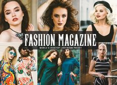 Free Fashion Magazine Mobile And Desktop Lightroom Preset by Faraz Ahmad Social Media Buttons, Photography Filters, Lightroom Tutorial, Free Instagram, Photoshop Actions, Adobe Photoshop, Lifestyle Photography, Lightroom Presets, Portrait