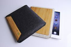 Grove Wool Felt iPad Sleeve by GroveMade, via Flickr