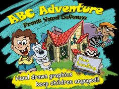 FREE app July 29th (reg 1.99) ABC Adventure HD: Front Yard Defense – Let kids love learning letters with Super Jay