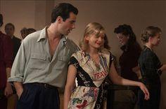 "Antonio Cupo as Marco Moretti & Anastasia Phillips as Vera in ""Bomb Girls"""