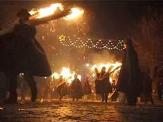 'Ndocciata, a very ancient fire ritual celebrated every December 24th. It originated from the Samnite tribes, predating both Christian and Roman times. It takes place in Agnone, Molise Italy. The region of my ancestors