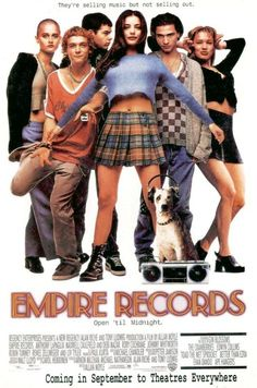 EMPIRE RECORDS top 10 in my favorite 90s movies :)