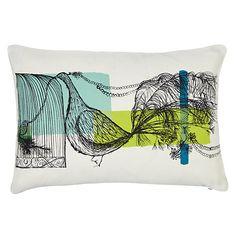 Buy John Lewis Lowey Bird Cushion Online at johnlewis.com; 25