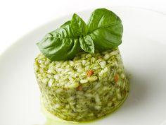 Pesto rice cake, Italy