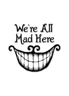 Alice in Wonderland Cheshire Cat - Happy Unbirthday Greeting Card Alice In Wonderland Drawings, Cheshire Cat Alice In Wonderland, Alice And Wonderland Quotes, Wonderland Party, Alice In Wonderland Original, Cheshire Cat Drawing, Chesire Cat, Cheshire Cat Smile, Cheshire Cat Zeichnung
