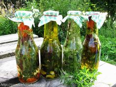 ochucený olej Canning Tips, Home Canning, Beauty Elixir, Home Food, Korn, Preserves, Health And Beauty, Home Remedies, Vegetarian Recipes