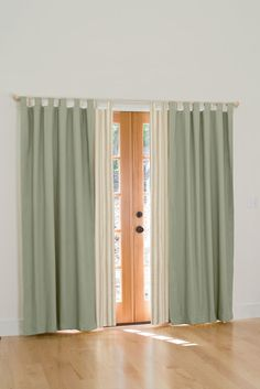 """Insulated Sliding Door Curtains, 84"""" L x 160"""" W"""
