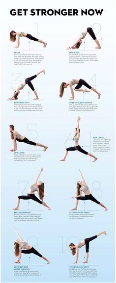 Strengthening Yoga Moves