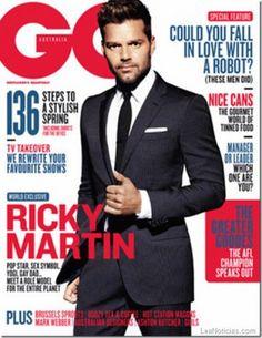 Revista GQ: Ricky Martin es un modelo a seguir para el planeta entero - http://www.leanoticias.com/2013/08/24/revista-gq-ricky-martin-es-un-modelo-a-seguir-para-el-planeta-entero/