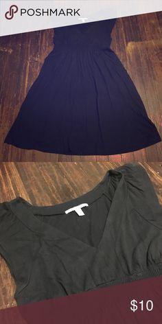 A little black dress Flowy black dress with cute cap sleeves. Old Navy Dresses Midi